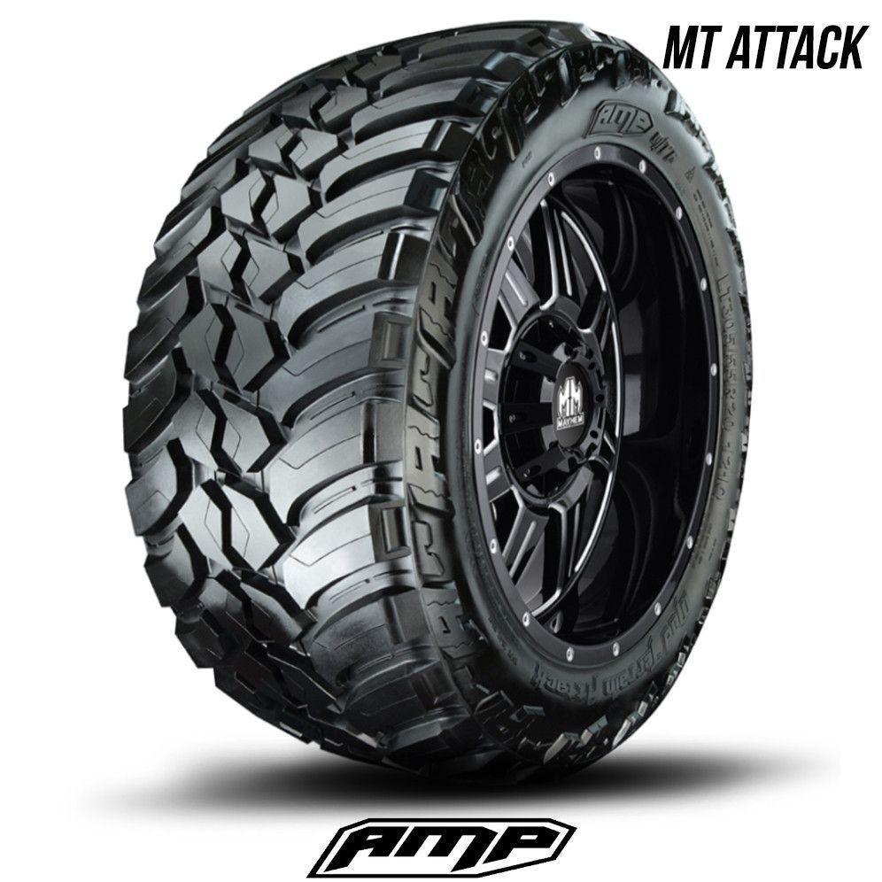 Ford Ranger All Terrain Tires: AMP Mud Terrain Attack M/T A 275/60R20 275 60 20 2756020