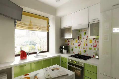 маленькие кухни 45 квадратов дизайн фото хрущевка 13 тыс