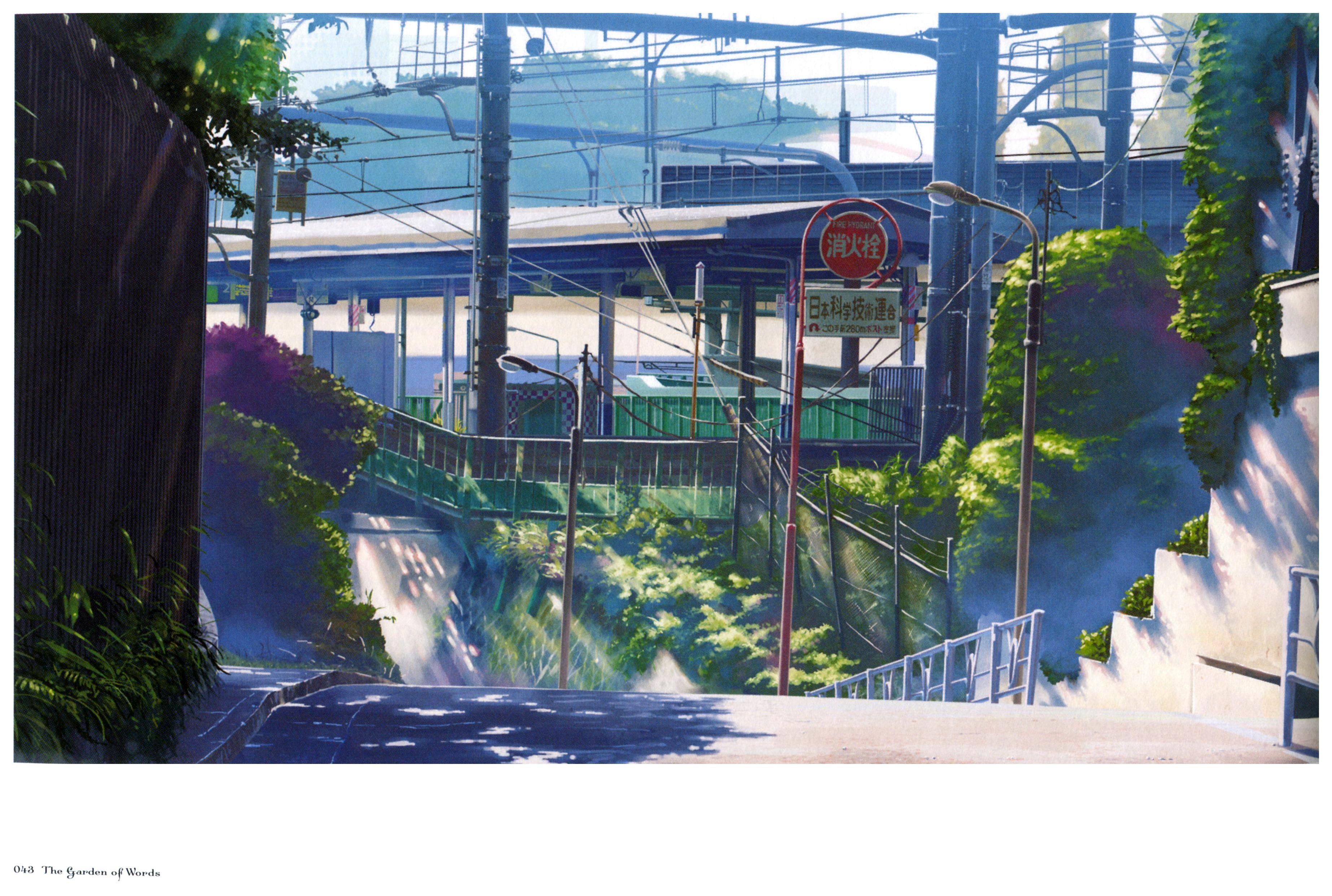 Kotonoha no Niwa Minitokyo Makoto Shinkai Anime