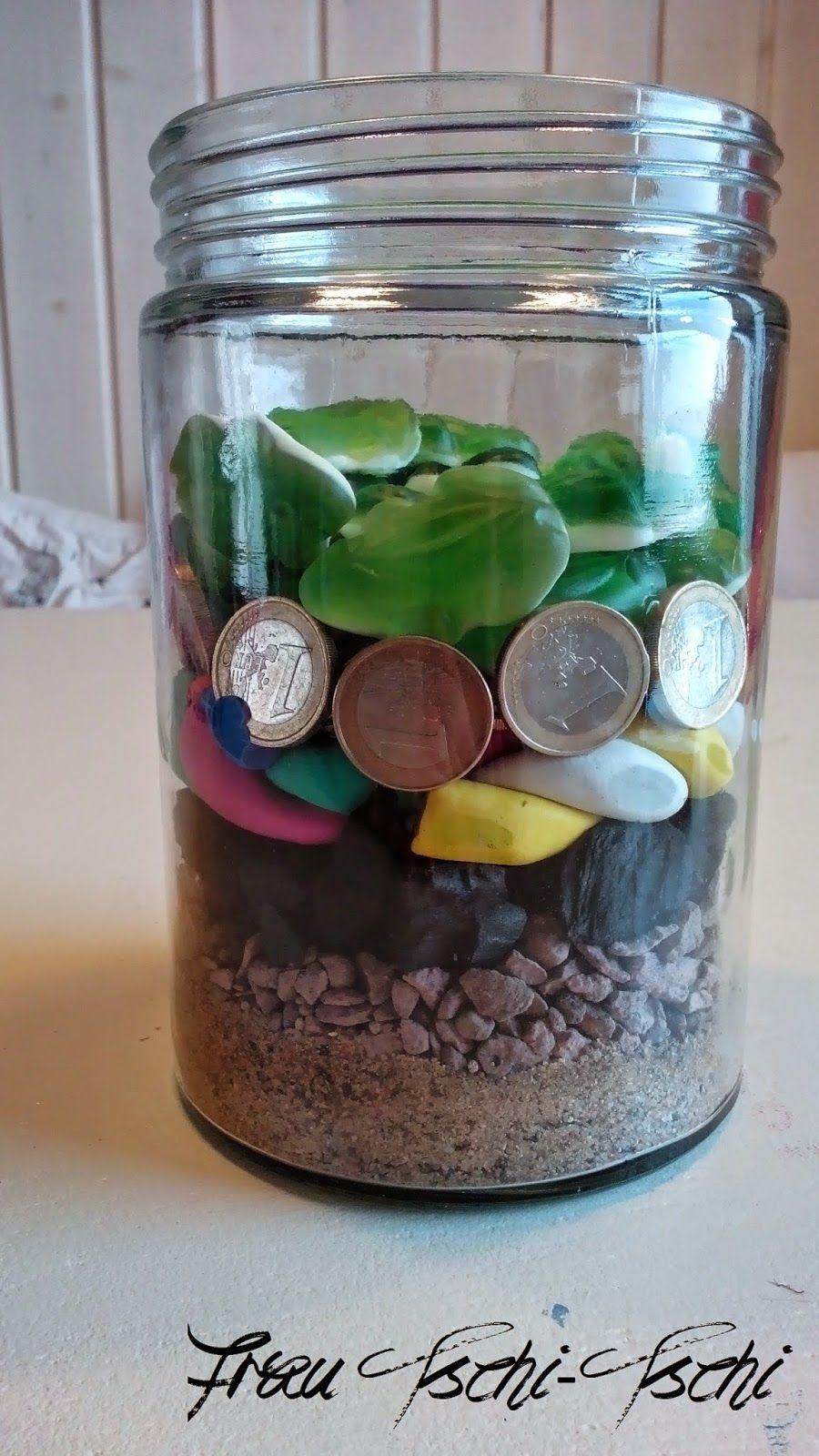 Geldgeschenk - Geschenk im Glas | Geschenke im glas