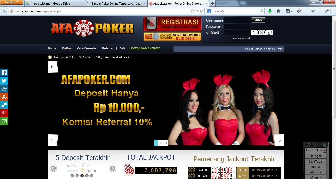 Afa Poker Afapoker Profile Pinterest