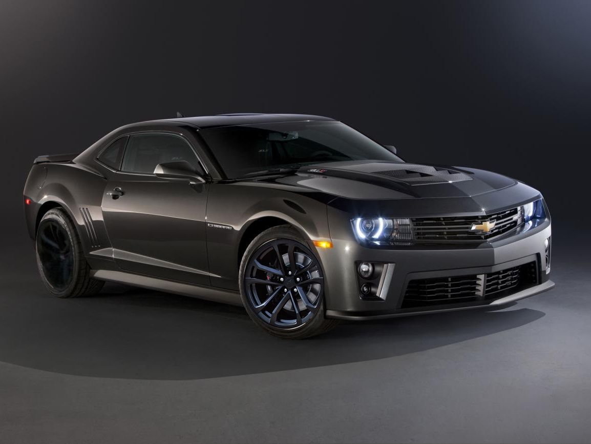 2012 Chevy Camaro Zl1 In Ashen Grey Metalic Chevy Camaro Zl1