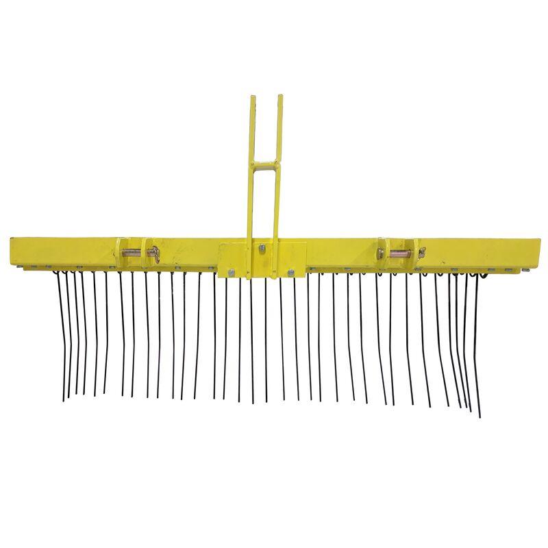 Pine Straw Needle Rake 5 Ft For Cat 1 3 Point In 2020 Rake Straw Needle