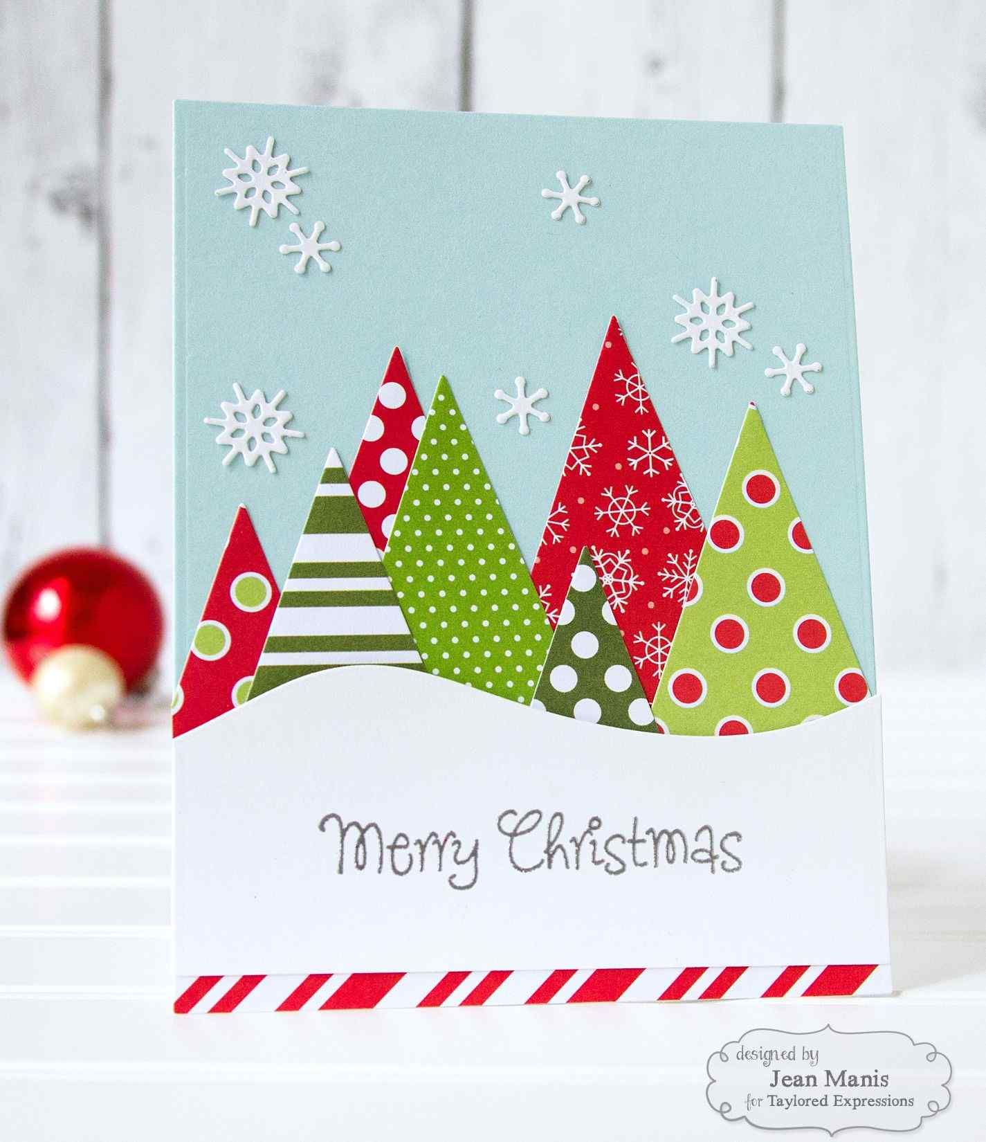 Beautiful Handmade Christmas Greeting Cards With Unique