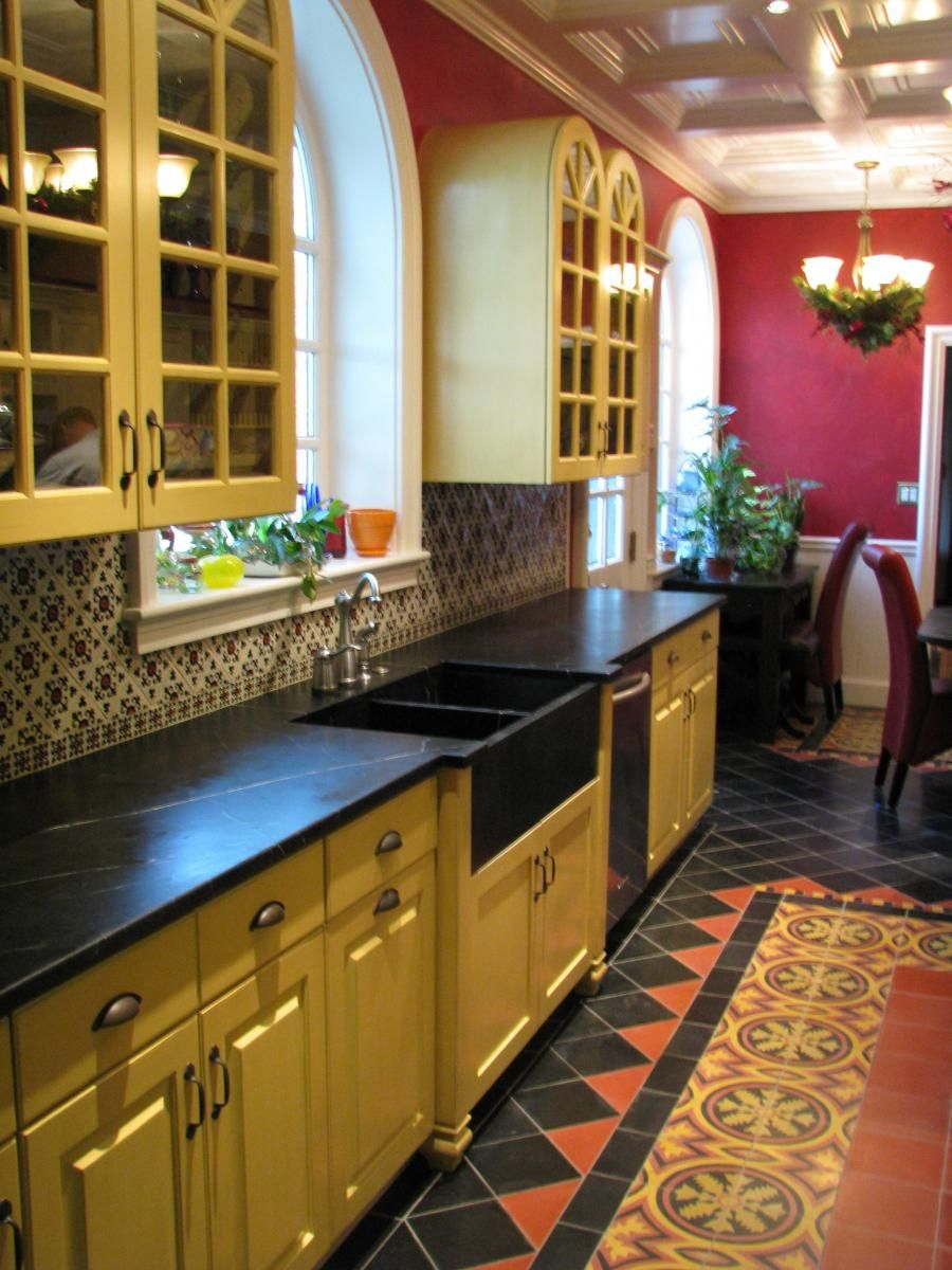 3 Home Decor Trends For Spring Brittany Stager: Renovated Spanish Hacienda Kitchen (Cultivate.com