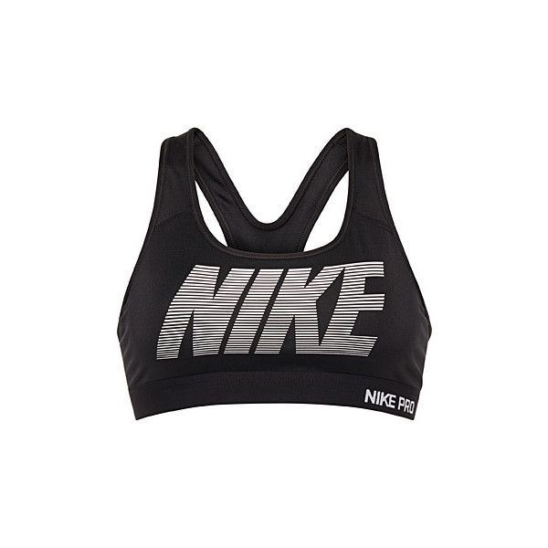68be331390 Nike Moulded Pro Classic bra ( 40) ❤ liked on Polyvore featuring activewear