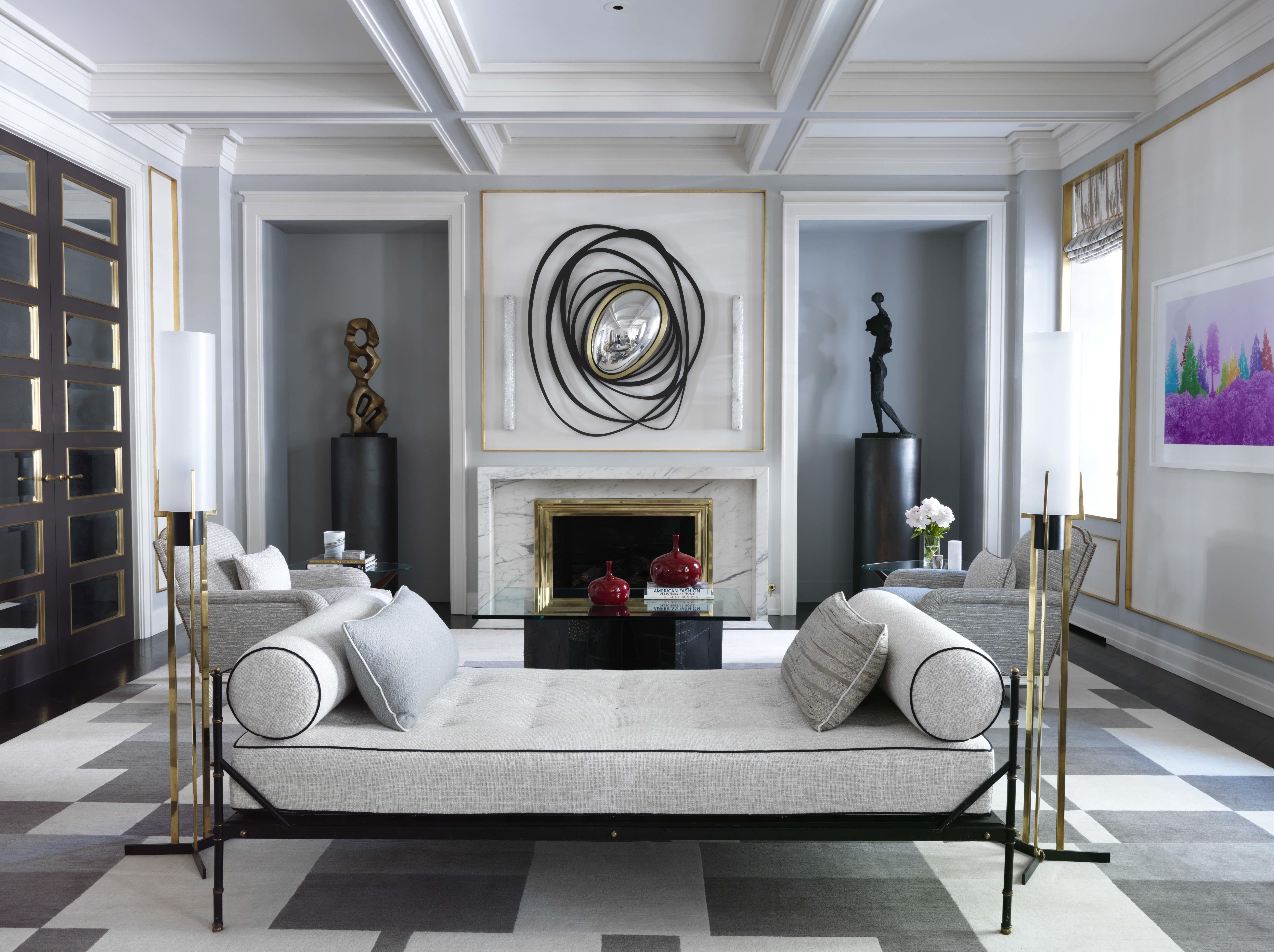 8 Sophisticated Interiors By French Designer Jean Louis Deniot, Inc