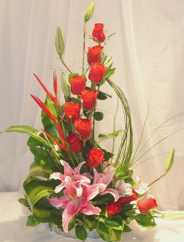 Arreglo floral Idea Pinterest Arreglos florales, Arreglos y