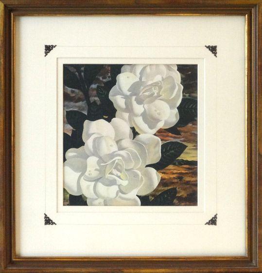 Magnolias Framed Art Frame Art