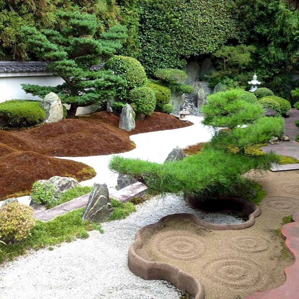 Simple rock garden decor ideas for your front or back yard ...