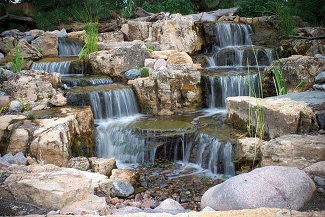 Favorite Pond Garden Ideas For Beautiful Backyard Frugal Living Waterfalls Backyard Outdoor Water Features Fountains Outdoor