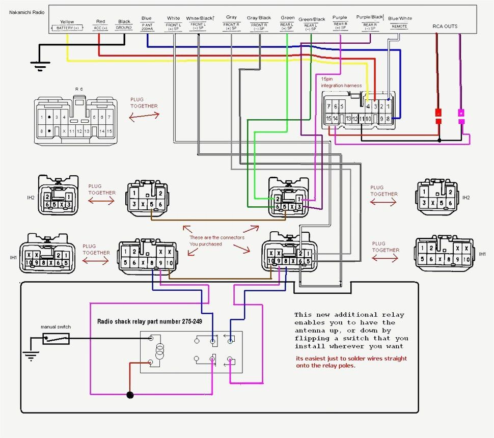 Clarion Radio Wired Remote Diagrams - custom project wiring ... on