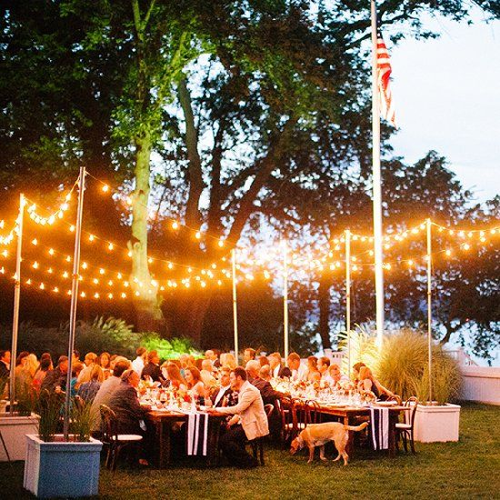 This Backyard, Waterfront Wedding Was The Perfect Setting