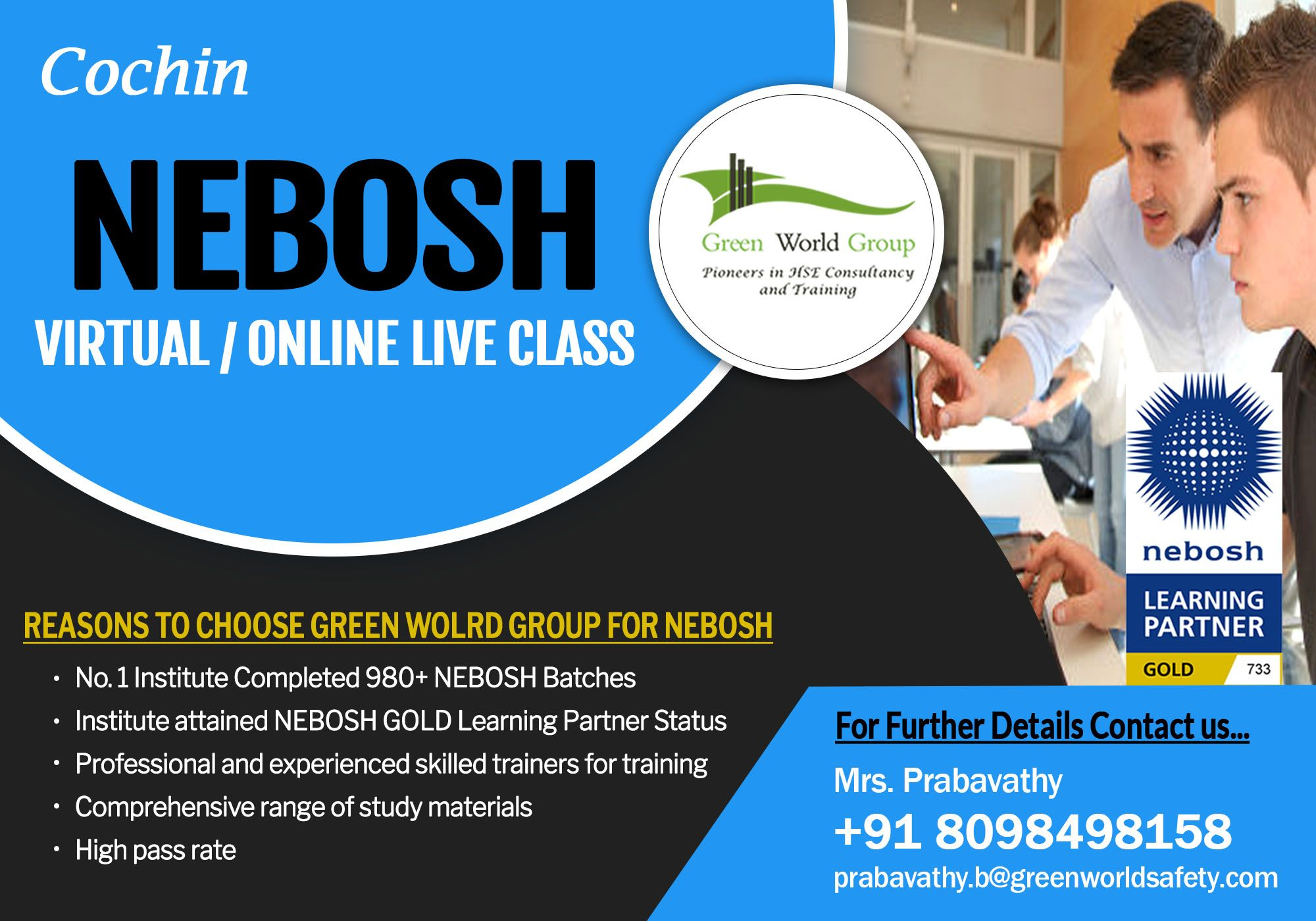 Join Nebosh Online/ Virtual Training Course in 2020
