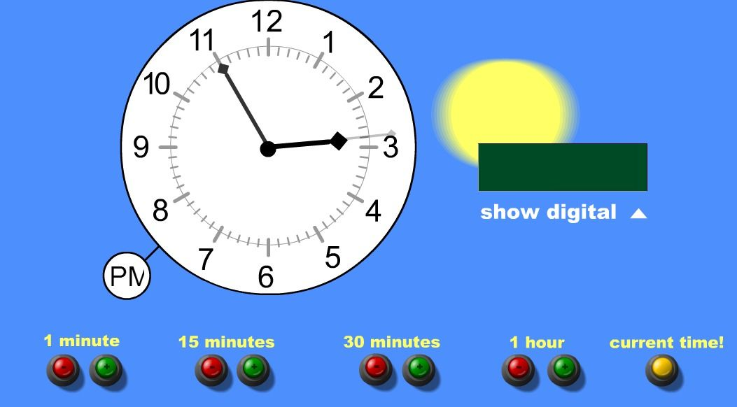Help Children Learn To Tell Time With This Interactive Clock Can