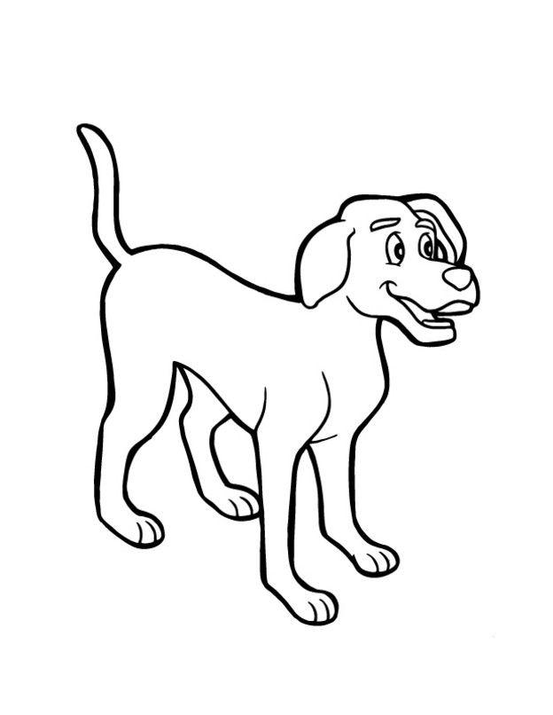 AUSMALBILD HUND 04 | broderies | Pinterest | Ausmalbilder hunde ...
