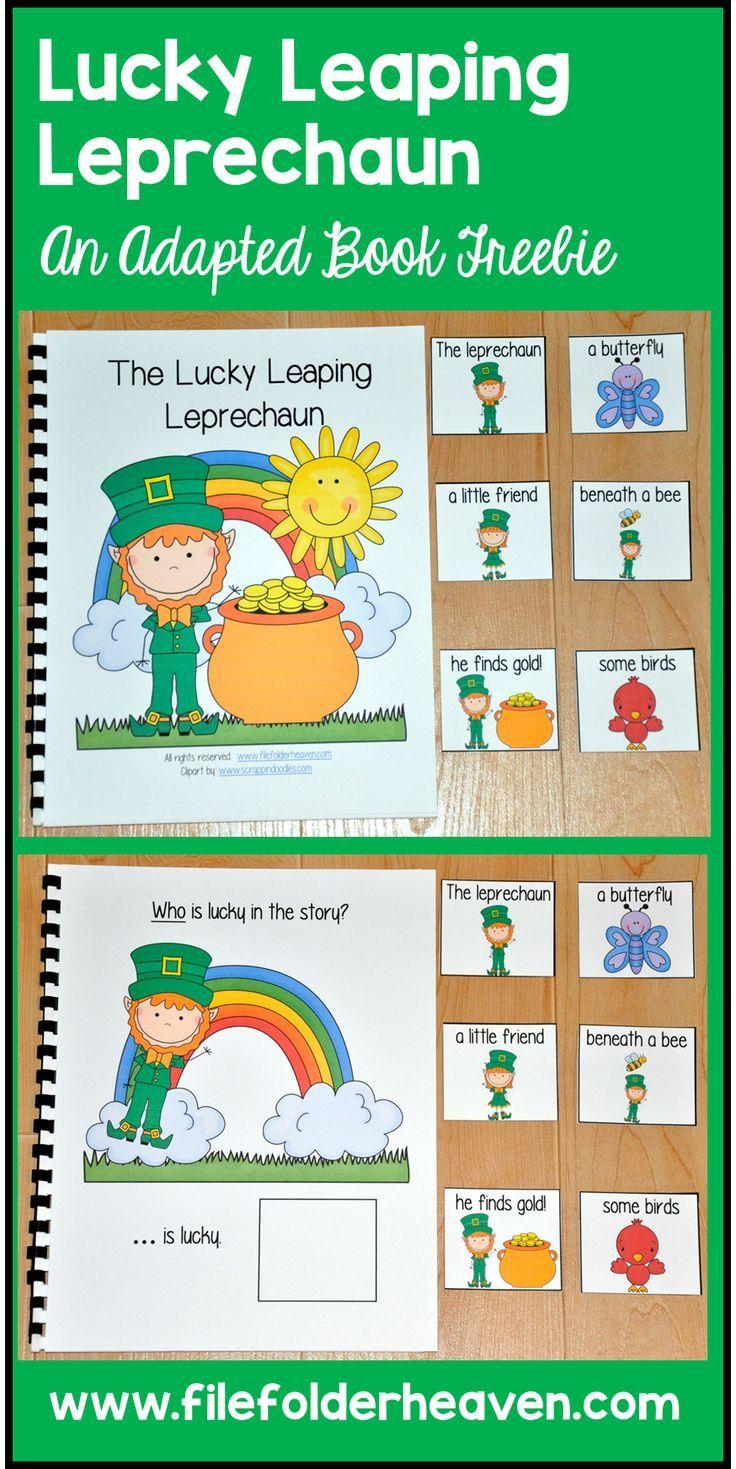 St Patrick S Day Free Adapted Books Fun Language Arts Adapted Books Free
