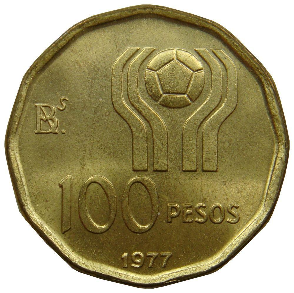E83 Argentinien Argentina 100 Pesos 1977 Fussball Al Bro Unc Km 77 Numismatics Coins Ebay Money Currency Sales Deals Argentinien Ebay Bro