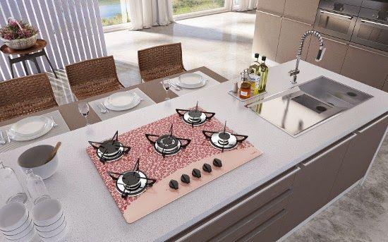 Decora Lovers: Cooktops vestem animal print