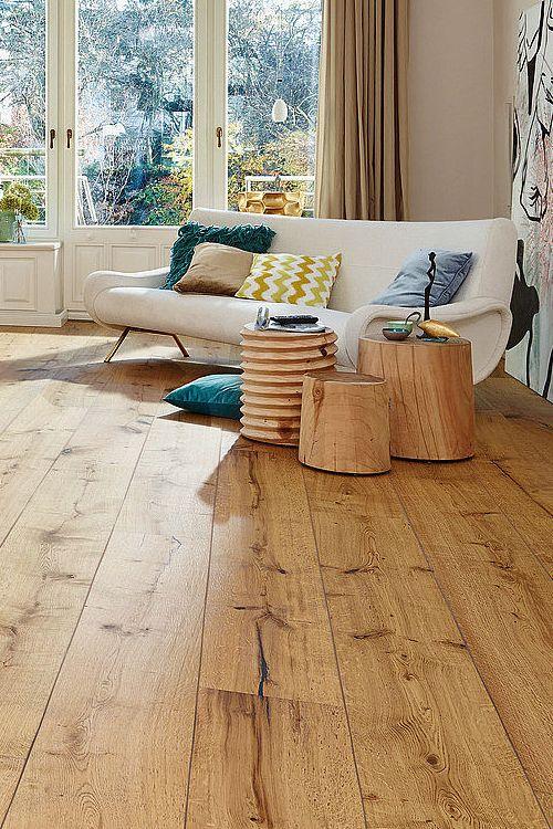 Los parquets roble de meister materiales materials madera piso de madera y suelos de madera - Suelos imitacion parquet ...