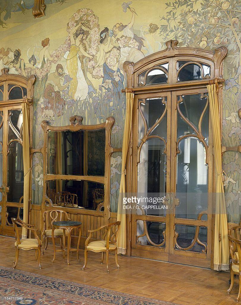Ernesto basile cerca con google art nouveau kunst noun art nouveau pinterest - Jugendstil innenarchitektur ...
