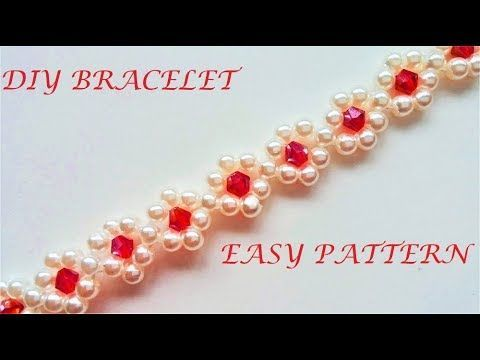 Photo of Easy bracelet patern. Beginners tutorial-#beginners #bracelet #Easy #patern #tut…