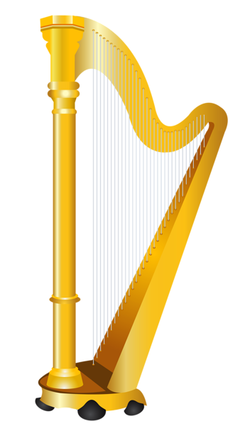golden harp png clipart picture pictures for game cards rh pinterest com harp clip art images harp pictures clip art