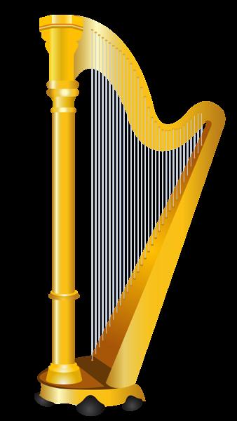 golden harp png clipart picture pictures for game cards rh pinterest com celtic harp clipart harp clip art free