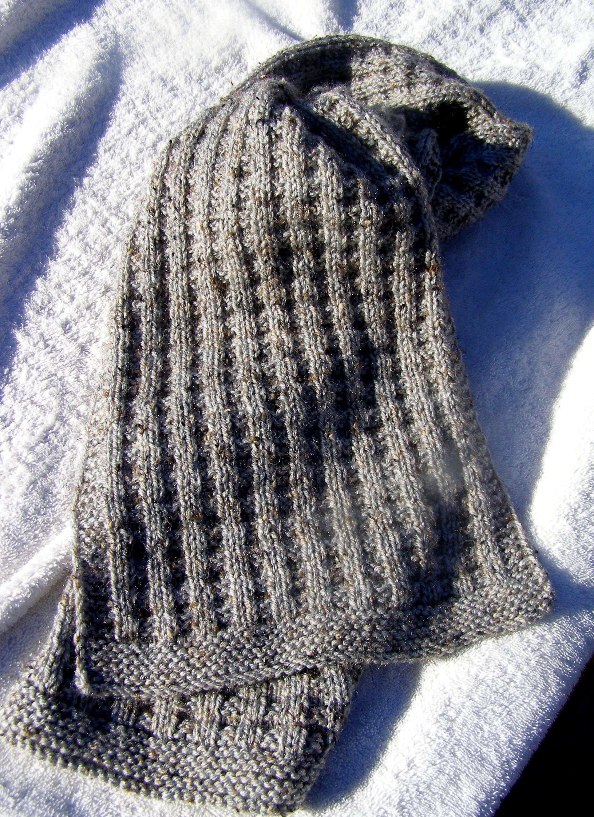 Waffle Scarf | Knitting - Scarves and Cowls | Pinterest | Waffles ...
