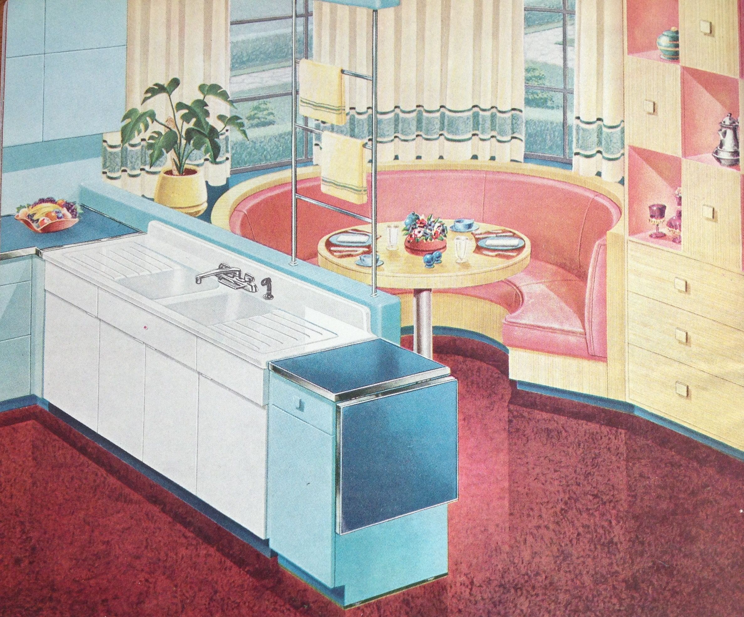 This is from a 1950 American Standard kitchen and bath catalog ...