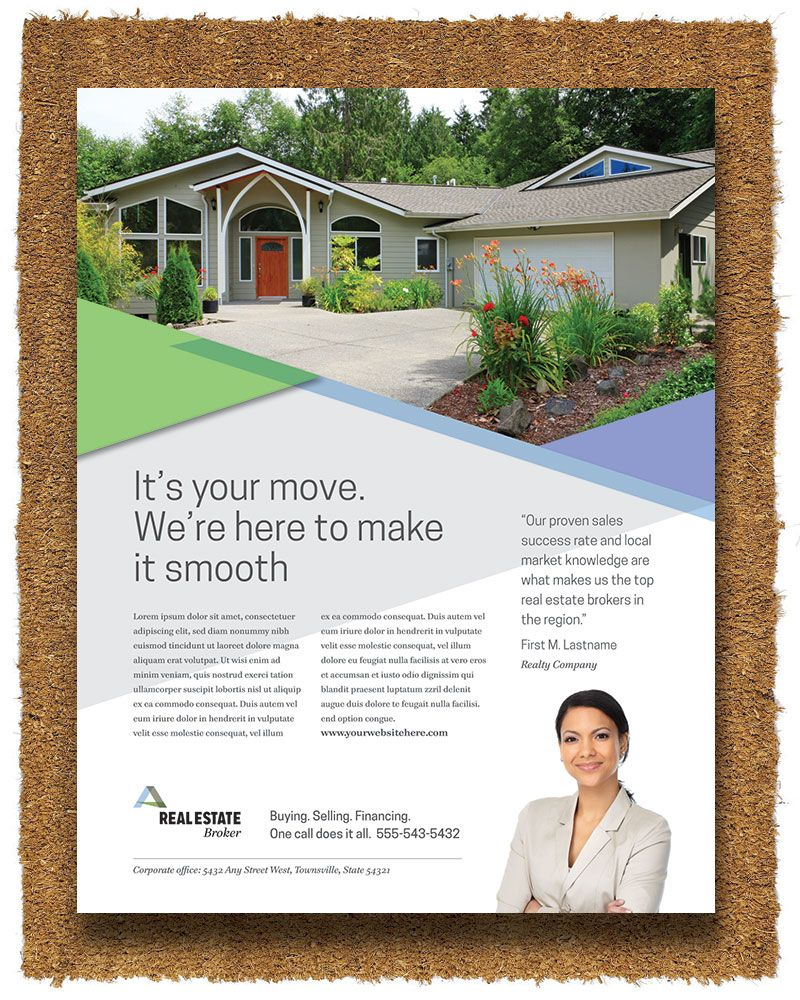 Realtor Flyer Template by StockLayouts | Real Estate Marketing ...