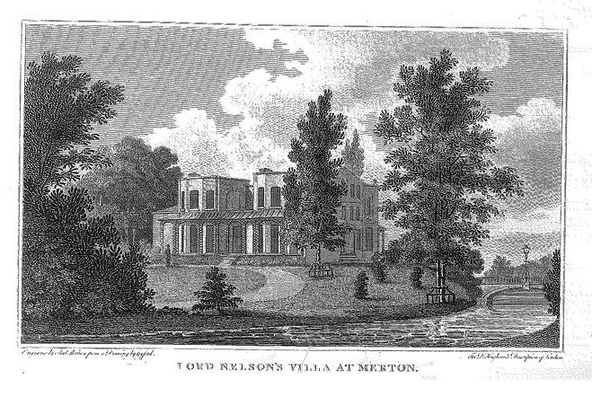 Details about MERTON PACE SURRY (LORD NELSON'S VILLA