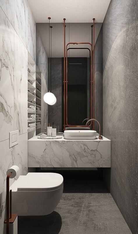 pin von mazi elkayam auf bathrooms pinterest badezimmer bad und g ste wc. Black Bedroom Furniture Sets. Home Design Ideas