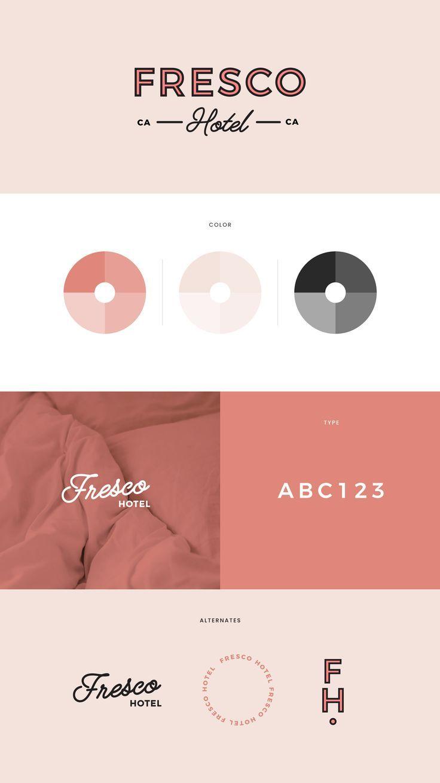 Identity Branding Fashion Typography