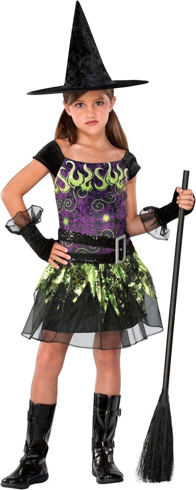 Spellcaster Witch Child Costume | eBay  sc 1 st  Pinterest & Spellcaster Witch Child Costume | eBay | Halloween | Pinterest ...