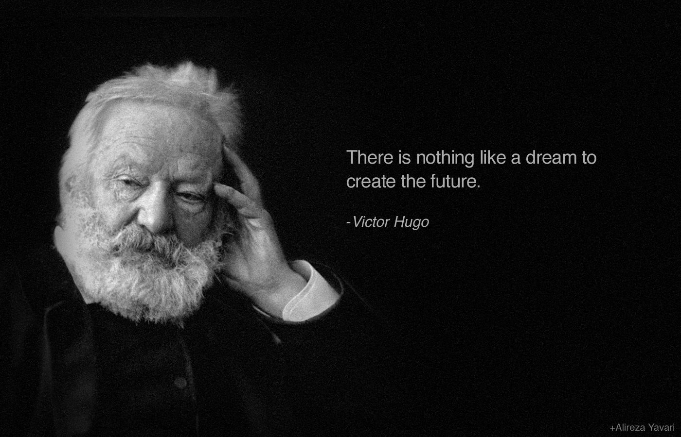 VICTOR HUGO, Author Of The Hunchback Of Notre Dame & Les