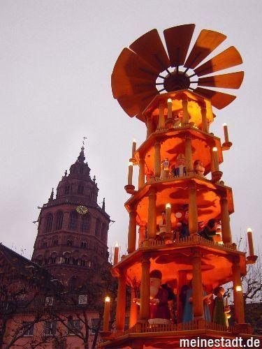 Weihnachtsmarkt am Dom, Mainz
