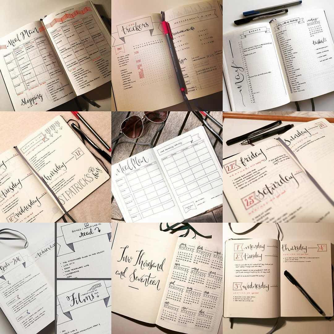 It seems fitting on the last day of 2016 to look back on my #2016bestnine It's been my first year of #bulletjournaling and I've loved the system and all your support. 4,946 likes to 38 posts - thank you! #2017 = more posts!! #bulletjournal #thankyou #instadaily