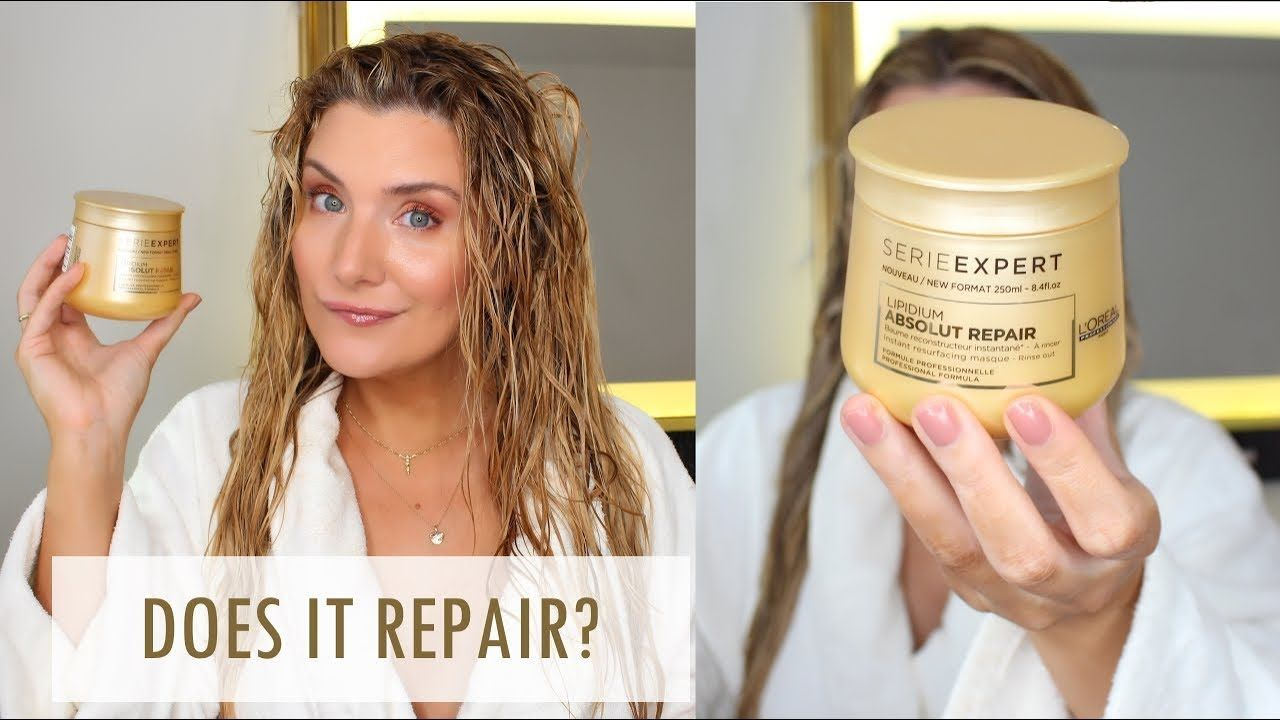 L'OREAL ABSOLUT REPAIR HAIR MASK in 2019 Hair repair