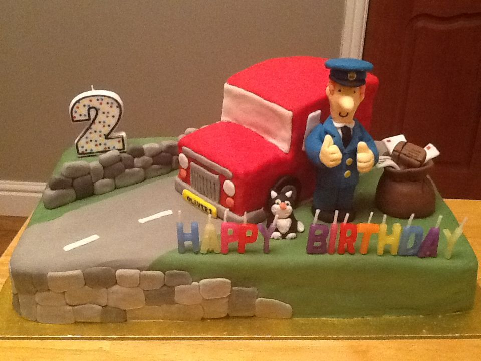 Postman Pat Party Ideas On Pinterest Fondant Figures