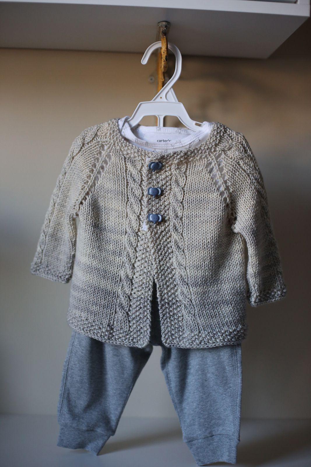 Vintage Cardigan pattern by Helen Rose | Knit baby ...