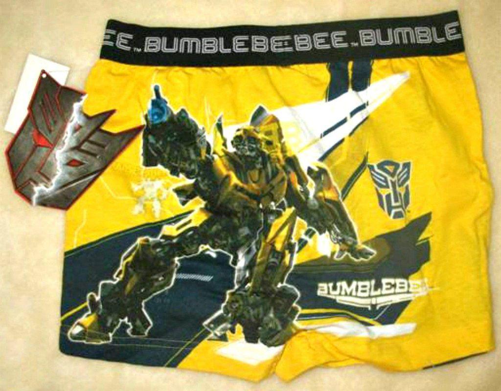 Pack of 4 Kids Underwear Transformers Boys Boxers