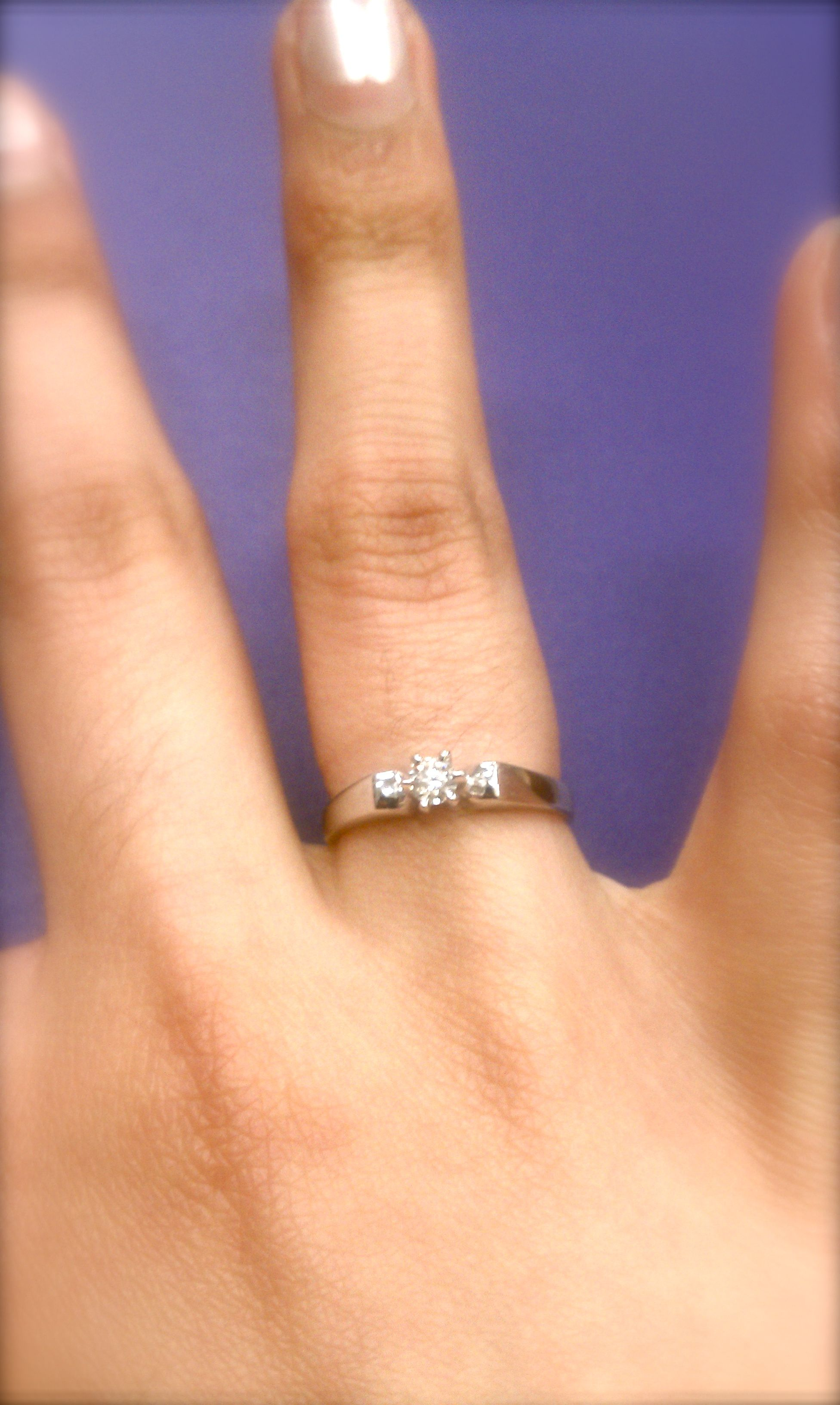 Simple And Beautiful Promise Ring Lovely Beautiful