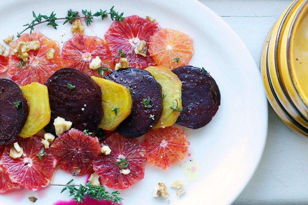 Blood Orange & Beet Salad - Eat Simple Food