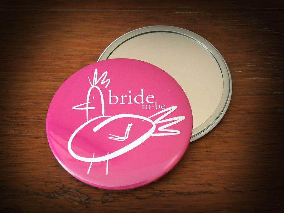 Hen Party Pocket Mirror Bride to Be