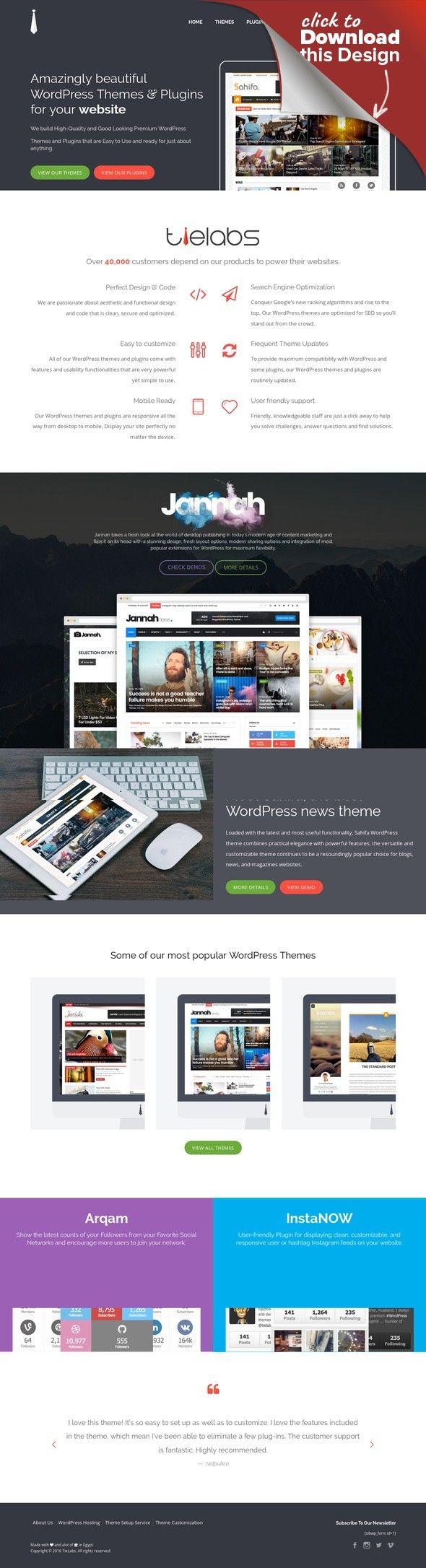 Jarida - Responsive WordPress News, Magazine, Blog | Wordpress ...