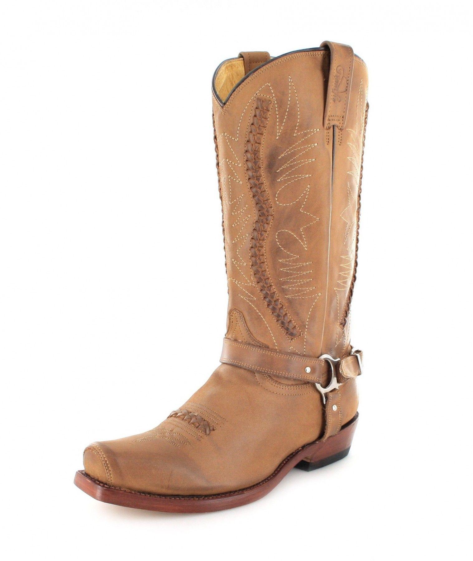 Rancho Biker Boot MEXICAN braun Stiefel Cowboystiefel
