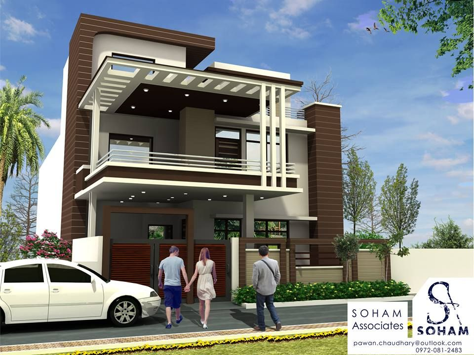 Project 110 Soham Modern Indian 4bhk Duplex Bungalow Residence