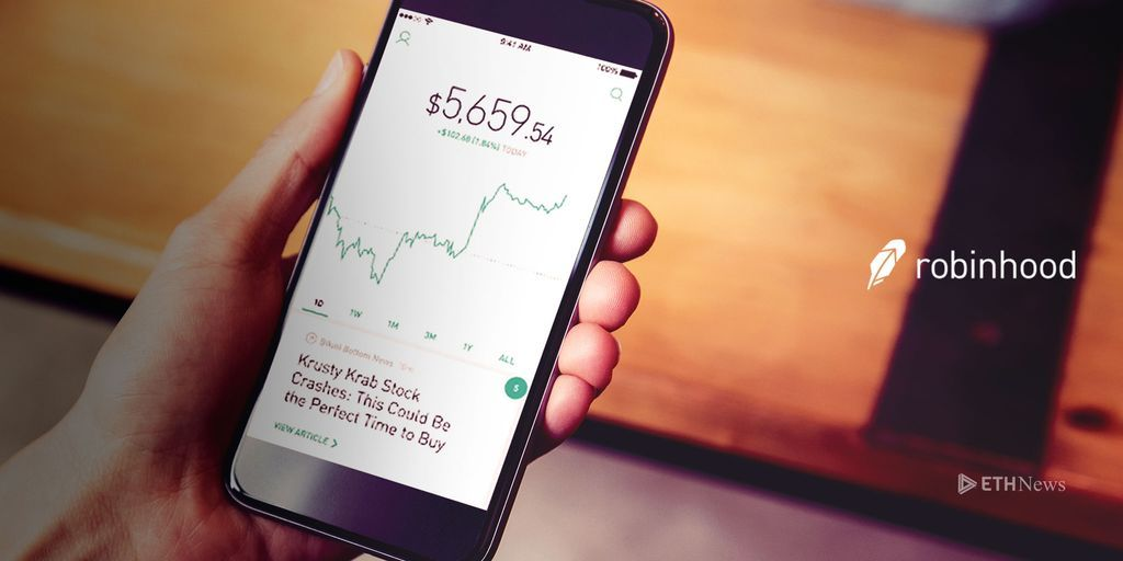 Robinhood App Adds Cryptocurrency Price Trackers, Trading