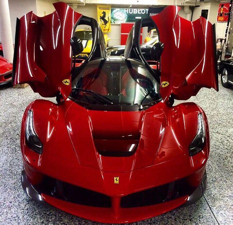 I call it the Red Dragon LaFerrari